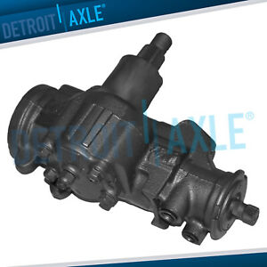 Power Steering Gear Box For Chevy Gmc K1500 Suburban Yukon Dodge Ram Trucks