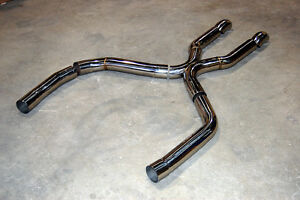 1998 2002 Camaro Trans Am New Stainless True Duals 3 X Pipe Dumped Ls1 Ss Z28