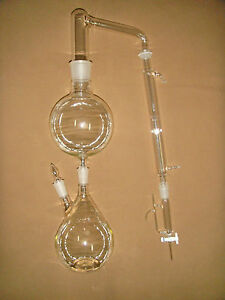 Essential Oil Steam Distillation Kit only Include The Whole Glassware