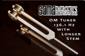 Long Stem Om Tuner Tuning Fork Exclusively Manufactured For Somaenergetics