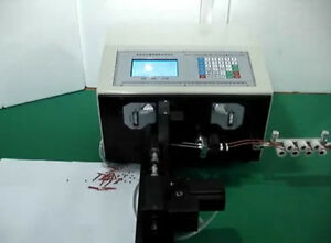 New Swt508 nx2 Computer Cable Wire Peeling Stripping Cutting Twisting Machine