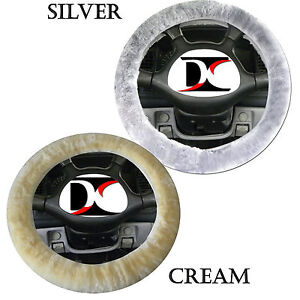 Sheepskin Steering Wheel Cover Choose Color Like Seat Covers