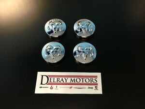 Chrome Center Caps set Of 4 Dodge Ram 1500 Dakota Durrango Brand New