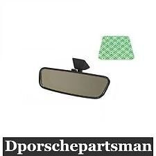 Porsche 911 912 914 Inside Rear View Mirror With Adhesive Pad New Ns