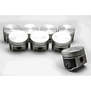 Speed Pro trw Chrysler dodge plymouth 440 Forged Flat Top 4 barrel Pistons 8 Std