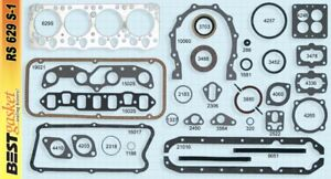 Dodge 270 Hemi Full Engine Gasket Set Best Head Intake Exhaust Rear Main 1955