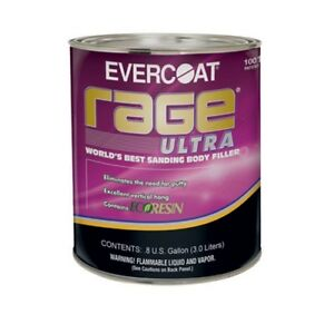 Evercoat Rage Ultra 0 8 Gallon 125