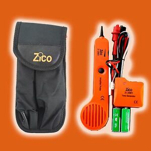Zico Tone Generator And Amplifier Probe Circuit Kit Cable Finder Line Tracker