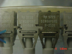 Hewlett Packard Hfbr 1528 Hfbr 2528 Fiber Optic Transmitter Locked 1 pair