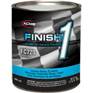 Sherwin Williams Finish 1 Ultimate Clearcoat Fc720 1 Gal Finish 1 Hardener