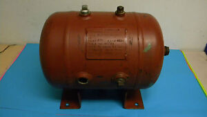 Brunner Eng 4 7 Gallon Horizontal Compressed Air Tank