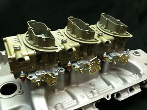 Ford Fe Sbf Sbc Pontiac Olds Chrylser 3x2 Tri Power Six Pac Carburetors