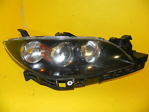 2004 2009 Mazda 3 Sedan Rh Passenger Halogen Headlight Oem 2005 2006 2007 2008