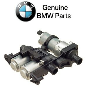 For Bmw E38 E39 Heater Control Valve W Auxiliary Water Pump Oes 64118374994