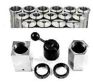 5pc 5c Hex Square Collet Block Set 15pc 5c Collet Set 1 8 1 By 16ths