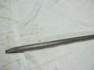 1937 Buick Side Of Hood Stainless Trim Spear 60 Series