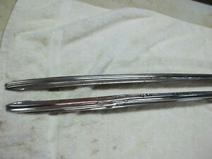 1937 Buick Rear Qtr Stainless Spear Pr 2 Door