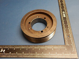 Martin Sprocket 43v600sk Pulley Sheave 4 Groove 5 15 16 5 9375 Outer Diameter