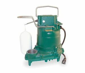 Zoeller Sump Pump 3 10 Hp 115 Volts Model M57