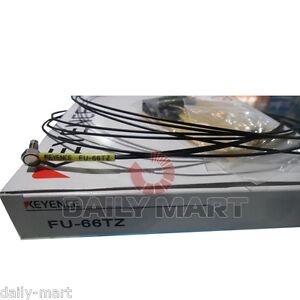 Keyence Digital Fiber Optic Sensor Fu 66tz Fu66tz New In Box Nib Free Shipping