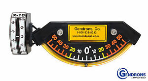 Degree Slope Meter Indicator level for Dozer grader caterpillar john Deere volvo