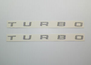 New 1985 1986 Shelby Charger Turbo Hood Decal Pair Of 2
