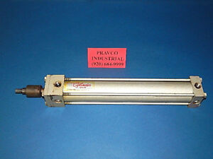 Milwaukee Cylinder A41 Pneumatic Air Cylinder 2 Bore 12 Stroke 250 Psi