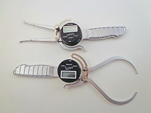 Pair 6 Outside Od And Inside Id Digital Electronic Gauge Calipers