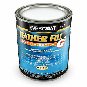 Gallon Evercoat Feather Fill G2 Polyester Primer Surfacer 711 Auto Body Repair