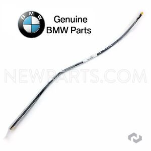 For Bmw E60 E61 Windshield Moulding Front Upper Genuine Seal Weatherstrip Rubber