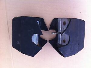 Mgb 1974 Rubber Bumperover Riders Bhh1369 Bhh1370 Pair With Brackets