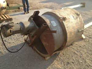200 Gallon Stainless Steel Jacketed Mix Tank Explosion Proof Mixer Bio Diesel