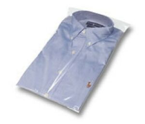 Clear Plastic Shirt Bags 10 X 16 Case Of 2000 new free Shipping