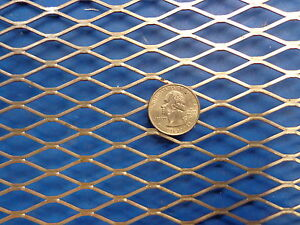 Expanded Metal Sheet Diamond Pattern 036 X 12 X 24 1 2 20 Expanded Steel