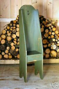 Primitive Handcrafted Potters Chair