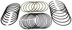 Chevy 350 5 7 Perfect Circle mahle Cast Piston Rings Set 1987 96 Shallow Std