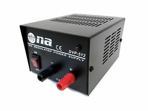 Nippon America Dc Regulated Power Supply 3 5 Amp Surge Converter 117 Ac To 13 8v