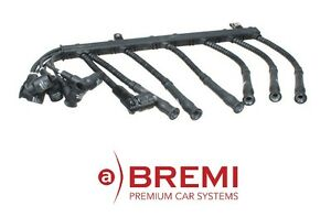 For Bmw E38 750il Right Side Cyl 1 6 Ignition Spark Plug Wire Set Oem Bremi