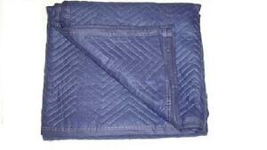 Moving Blankets 12 pack 72 x80 Economy Moving Pads 45 50lbs dozen dark Blue