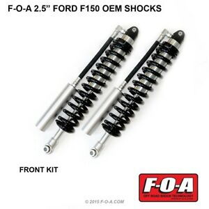 F 150 Front Coilover Shocks Foa King Fox