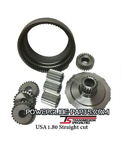 Tsi Powerglide Transmission 1 80 Straight Cut Gears 9310 Material