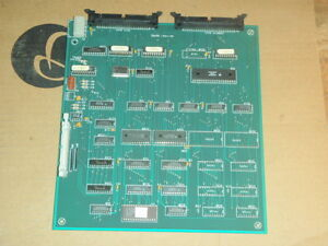 Haas Vf 1 Vmc Video2 Rev A Card Qci Type 1 3590 Circuit Board Pcb Video 2