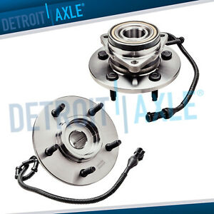 1997 2000 Ford Expedition Lincoln Navigator 2 Front Wheel Bearing Hub 12mm Bolt