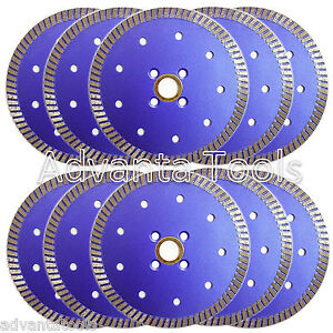10pk 5 Premium Turbo Diamond Saw Blade For Granite Marble Stone
