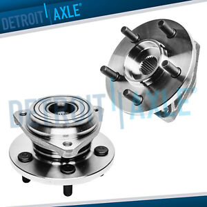 For Jeep Grand Cherokee Comanche Wrangler Tj 2 Front Wheel Hub Bearing Assembly