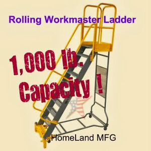 Rolling Ladders Cotterman