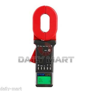 Etcr2000c Clamp On Ground Earth Resistance Tester Meter Multimeter Rs232
