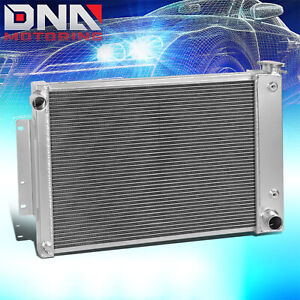 For 1967 1969 Chevy Camaro Firebird T A 5 7l 3 Row Full Aluminum Racing Radiator