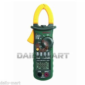 Mastech Ms2108 True Rms Ac dc Mini Current Clamp Meter Clampmeter 6600 Counts