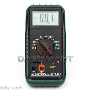 Mastech My6243 3 1 2 Digital Lc C l Meter Inductance Capacitance Tester